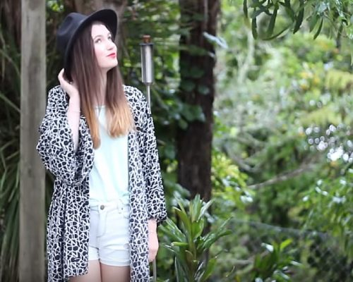 Sewing Project for Beginners: Easy Step-by-Step DIY Kimono