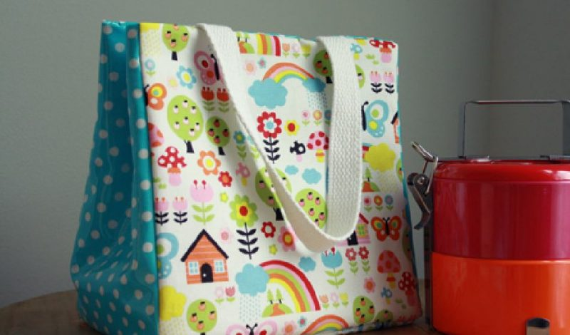 Crafty And Adorable Quilted Lunch Bag For Your Kids