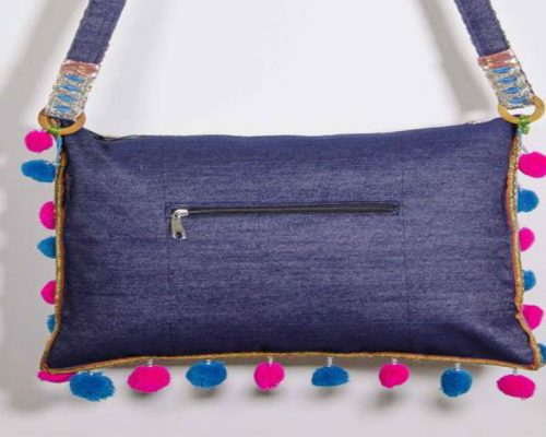 Make A DIY Purse Out Of Recycled Jeans In 5 Easy Steps