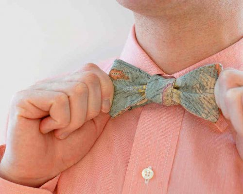 Sew And Wear This DIY Bow Tie On Bow Tie Day! | Sewing Project