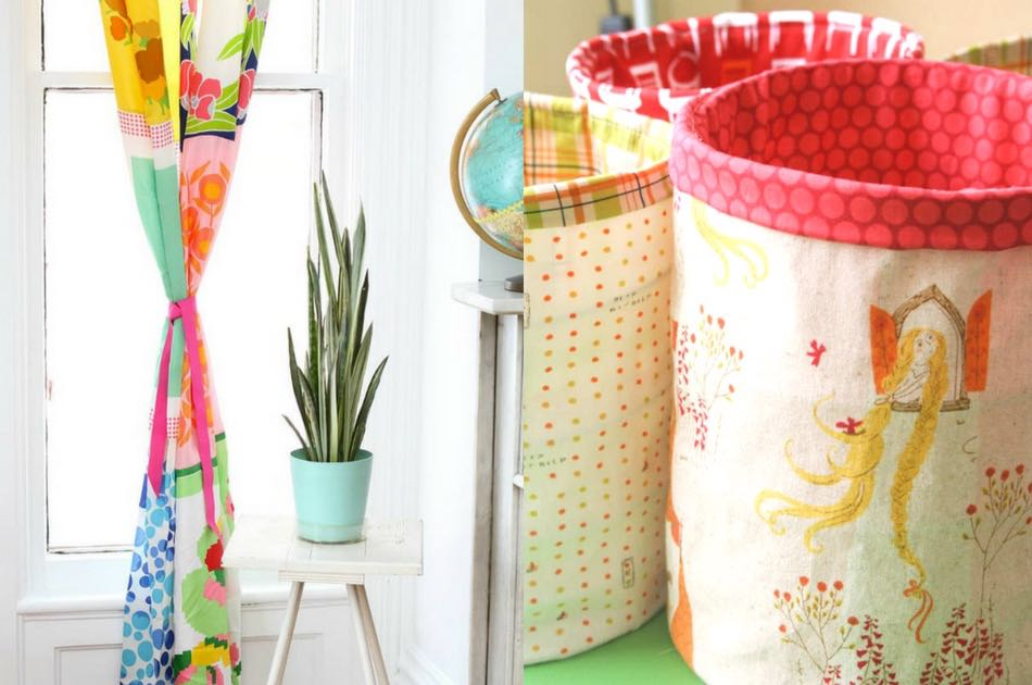 12 Home Decor Sewing Projects that willFeature Image| sewing.com | Make Your House a Home