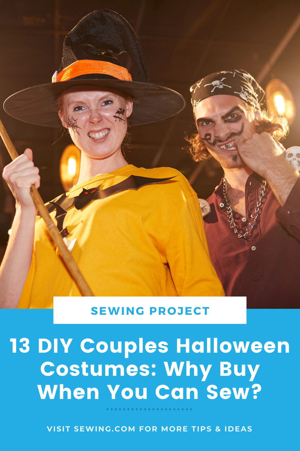 placard | 13 DIY Couples Halloween Costumes Why Buy When You Can Sew