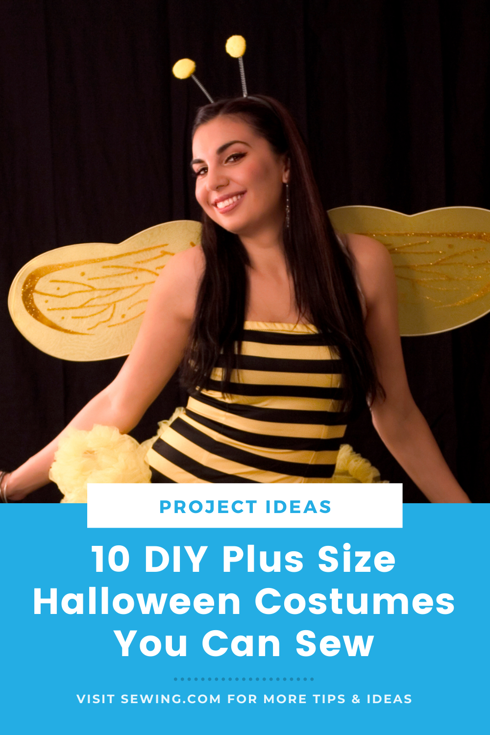 placard | 10 DIY Plus Size Halloween Costumes You Can Sew