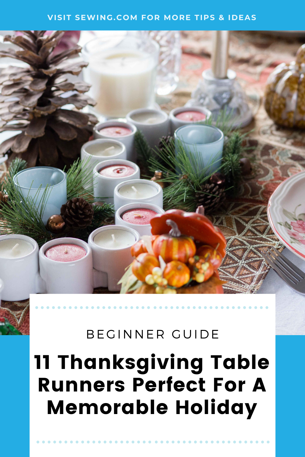 placard | 11 Thanksgiving Table Runners Perfect For A Memorable Holiday