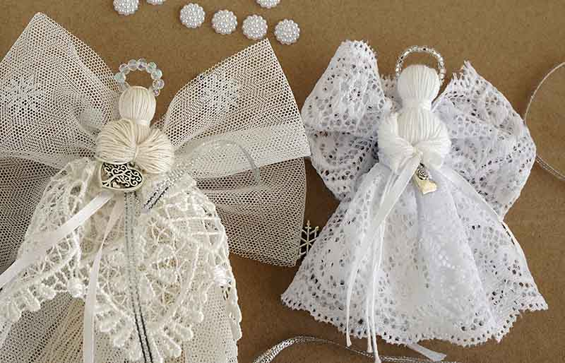 christmas decorations on paper background | christmas ornaments to sew