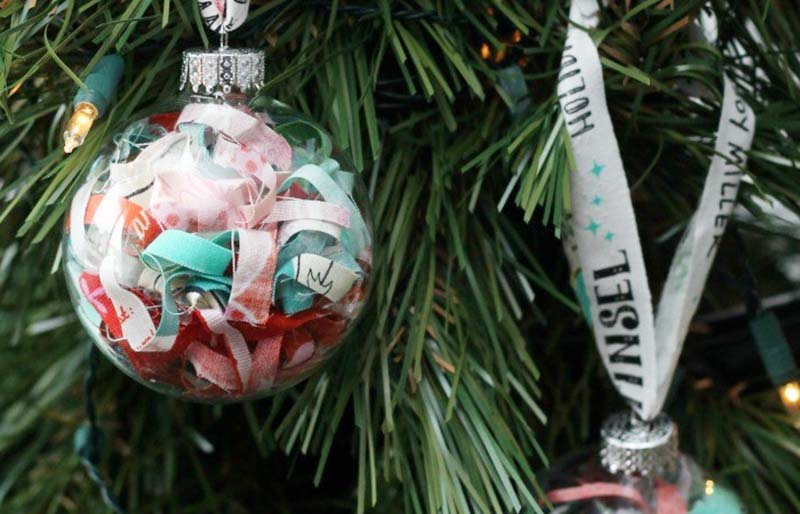 christmas quilt scrap fabric tutorial   christmas ornaments to sew