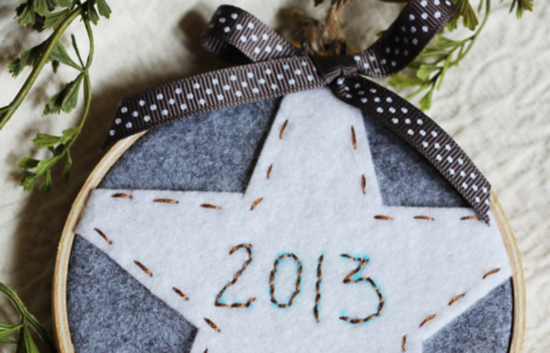 embroidery hoop ornament   christmas ornaments to sew