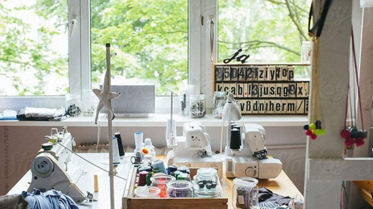 Organizing Tips for Small Sewing Spaces