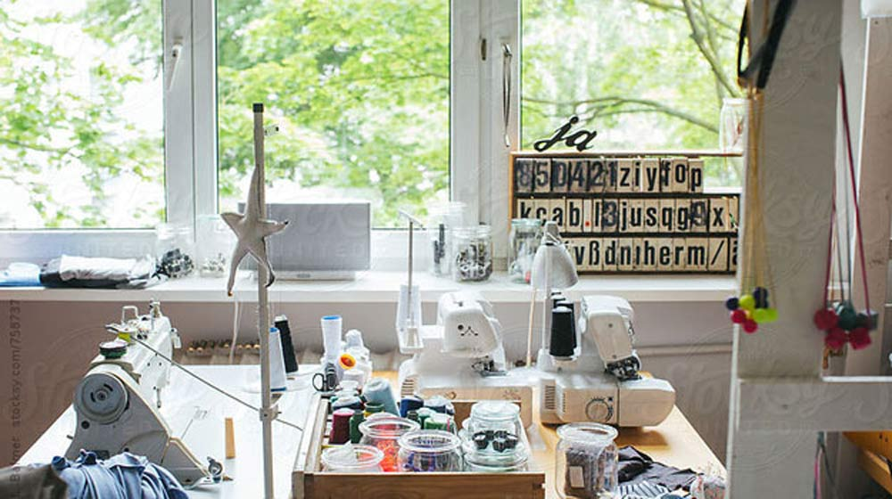 Tiny Home Designs: 8 Organizing Tips To Maximize Small Sewing Spaces