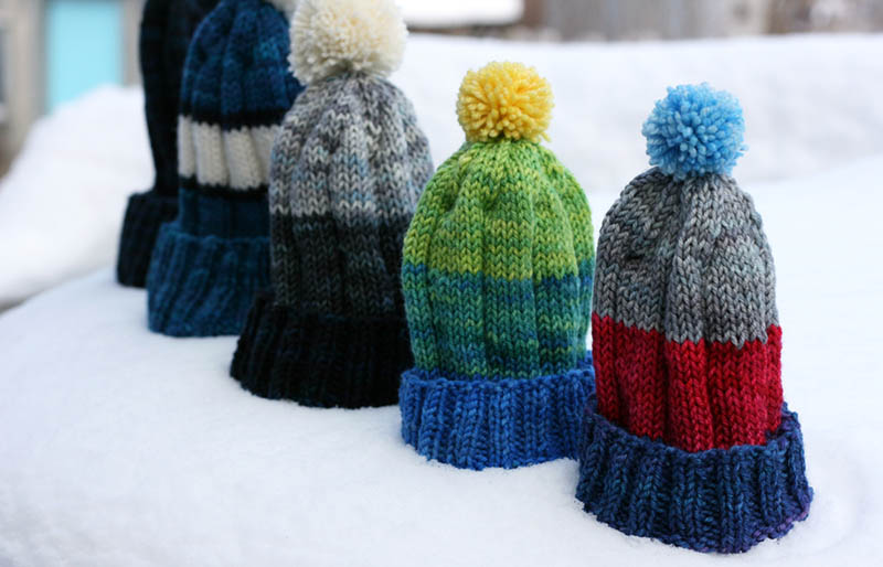 grammys hats and mittens | creative knitting projects