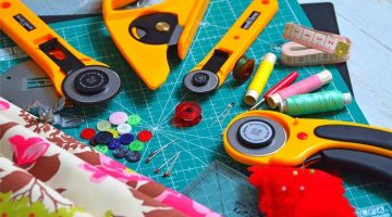 cutting tool textile late buttons | Cool Sewing Projects You Can Put Up For Sale At The Next Craft Show | Featured