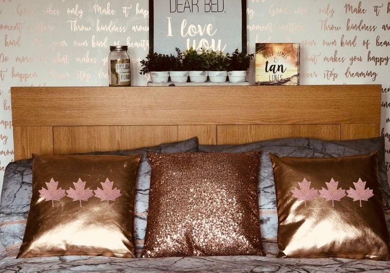 Three Brown Throw Pillows | throw pillow covers