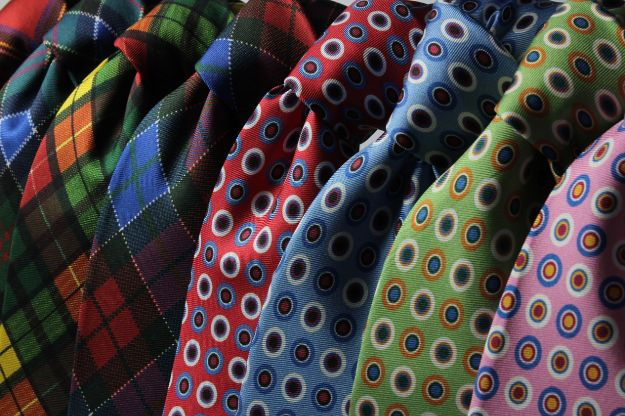 Father's Day Gift Idea: DIY Classic Necktie For An Amazing Dad