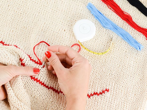 The Satin Stitch | Basic Embroidery Stitches