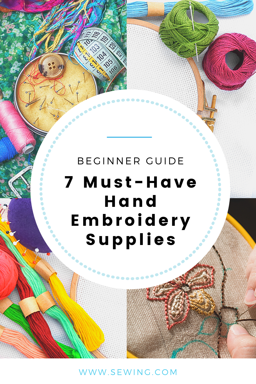 placard | 7 Must-Have Hand Embroidery Supplies