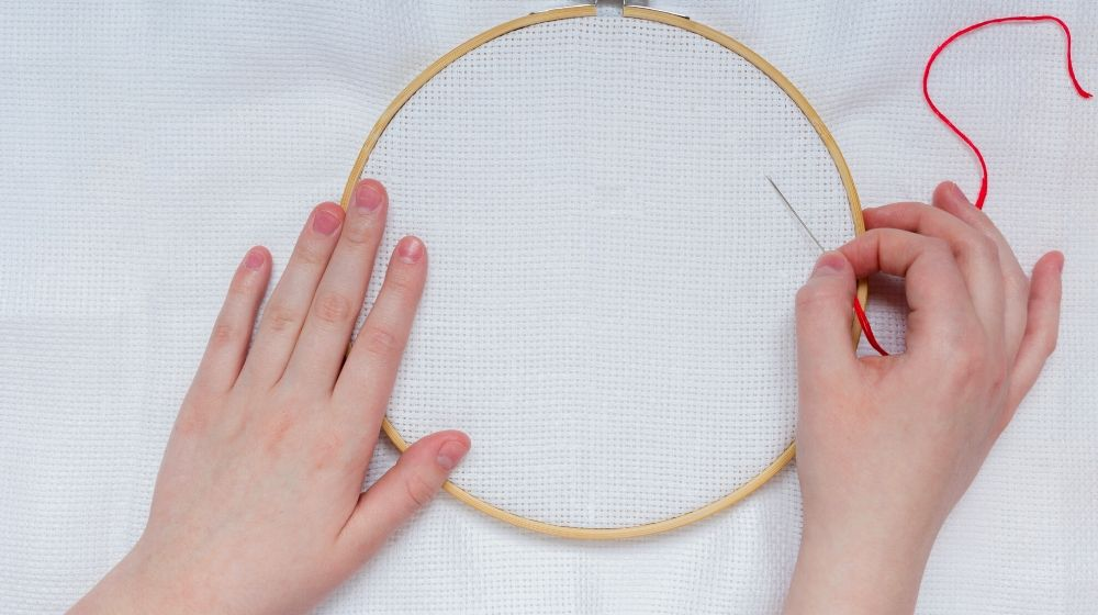 hands teenage girl needle | Must-Have Hand Embroidery Supplies