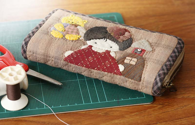 quilting product wallet quilt homemade japanese | easy sewing projects for beginners
