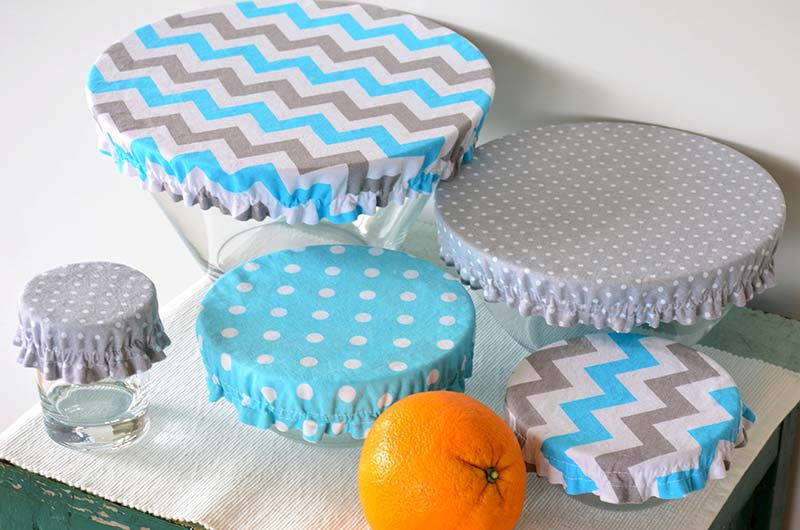 set bowls covered reusable zero waste | easy sewing projects for beginners