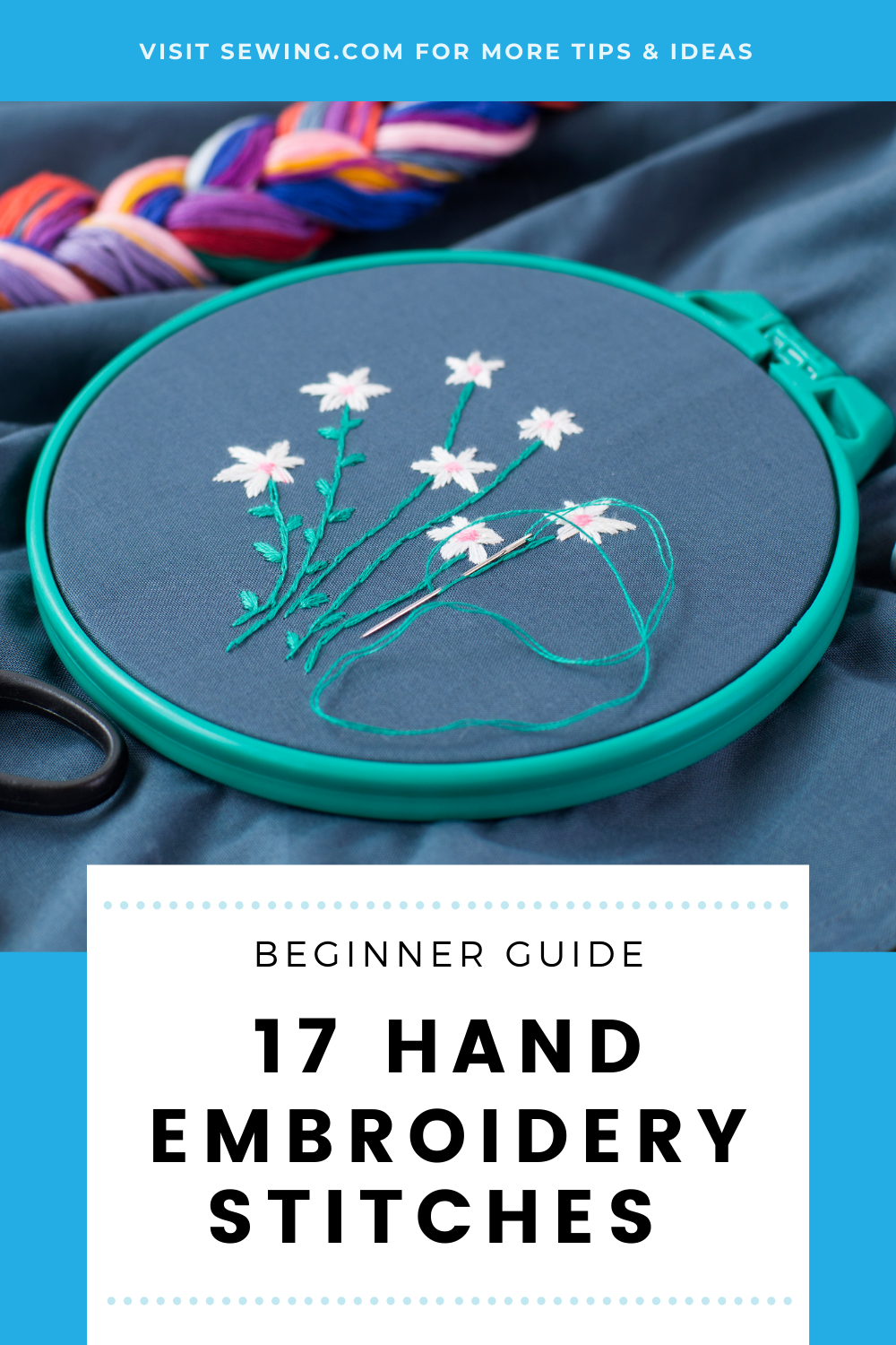 placard | 17 Hand Embroidery Stitches Every Sewer Should Know 3