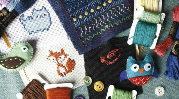 Embroidery needlework cross stitch | Free Embroidery Patterns You Can Recreate For Every Occassion | Featured