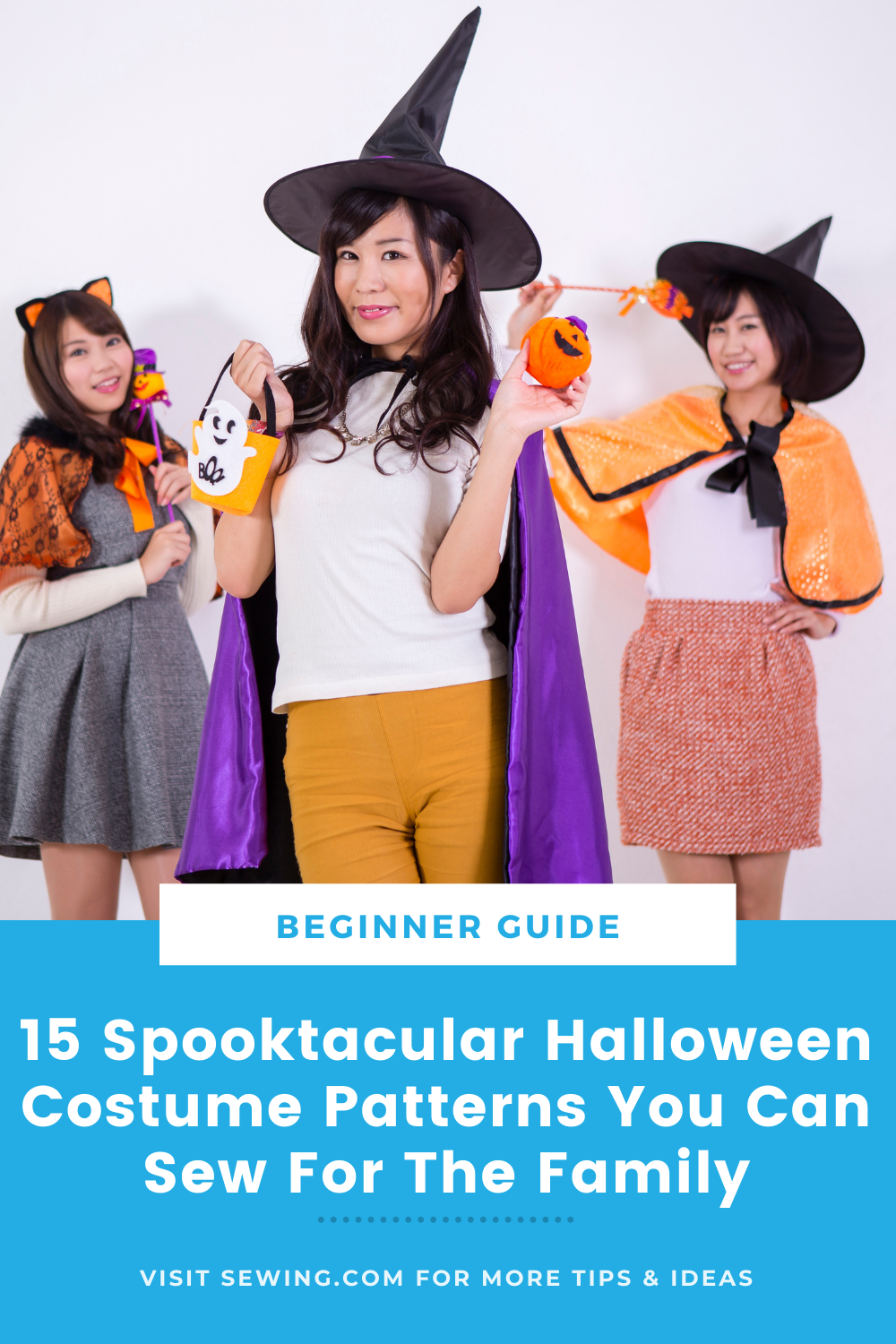 placard | 15 Spooktacular Halloween Costume Patterns You Can Sew For The Family