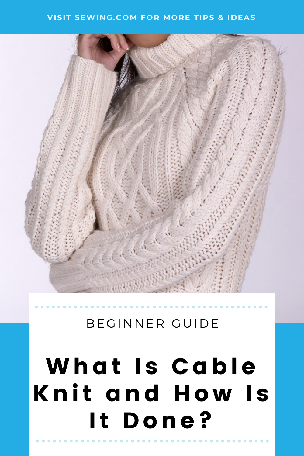 placard | What Is Cable Knit and How Is It Done?